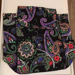 NEW Vera Bradley Drawstring Backpack Kiev Paisley